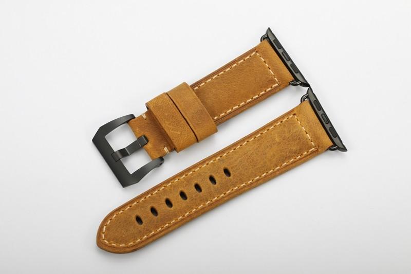 ibracelets Uhren Armband Amsterdam S für die Apple Watch aus Italienischem Leder