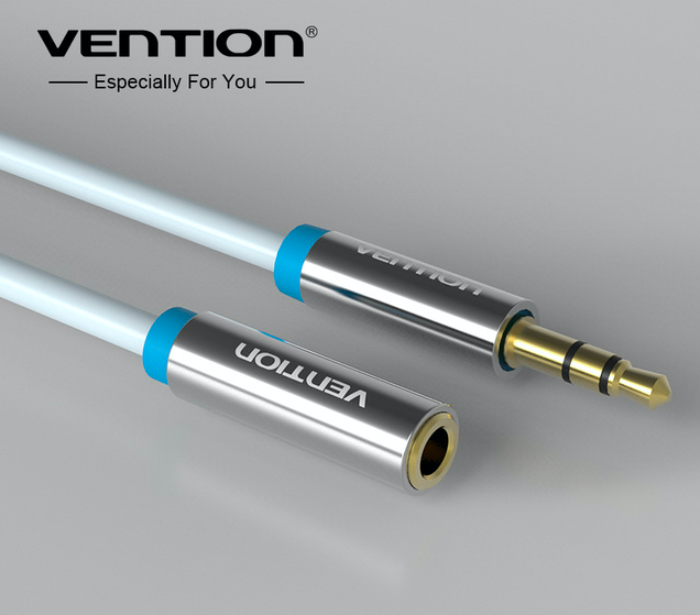 VENTION Premium Stereo Klinken Verlängerung Kabel 3,5mm Kopfhörer