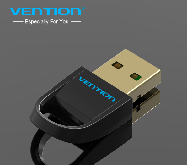VENTION Premium Bluetooth Stick USB Bluetooth Dongle v4.0 vergoldet
