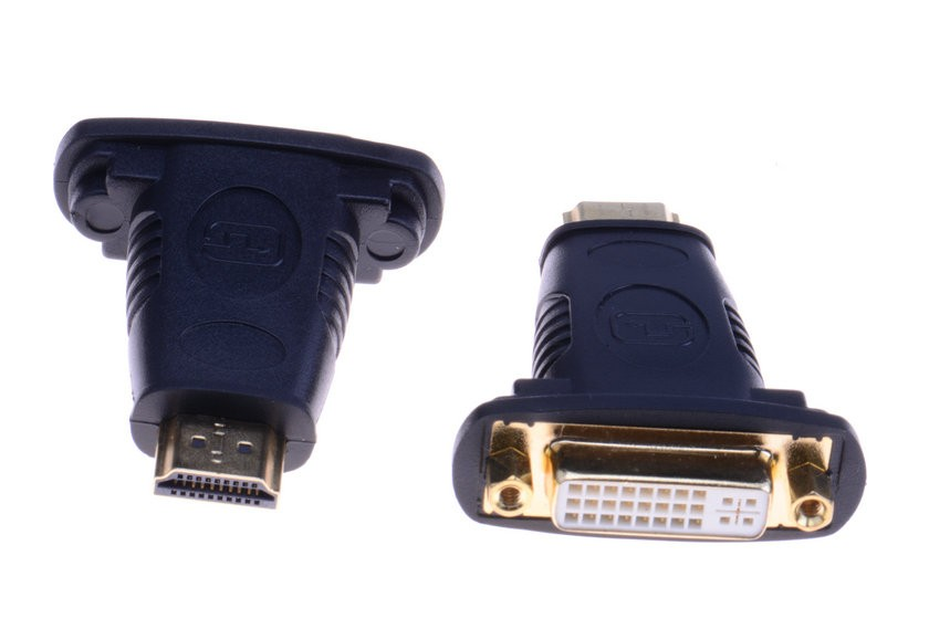VENTION Premium DVI 24+5 Buchse auf HDMI Stecker Adapter vergoldet