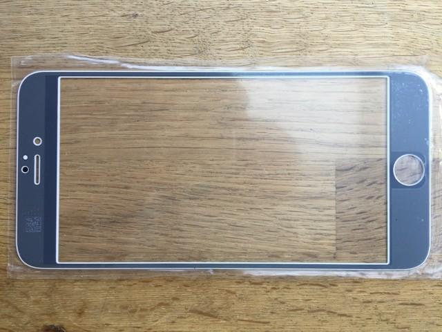 Reparatur-Set in weiß Passend für iPhone 5s Reparatur-Set in weiß mit  Polarizer, Glas / Scheibe, mittleren Rahmen