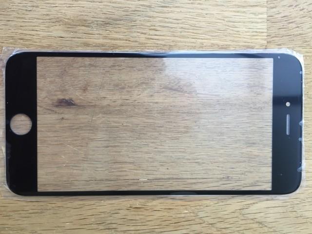 Reparatur-Set Passend für iPhone 6s mit  Glas / Scheibe schwarz