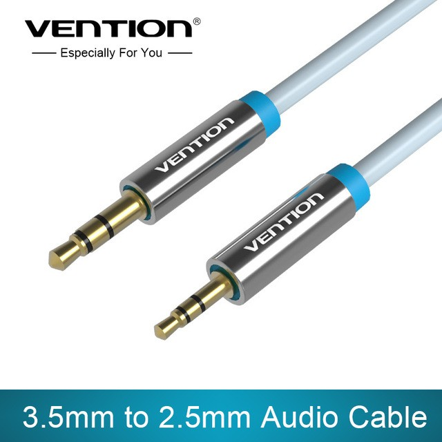 VENTION Premium Audio Klinken Kabel 3,5mm Klinke auf 2,5mm Klinke