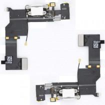 Für Apple iPhone 5s Dock Connector Ladebuchse Flexkabel Antenne Mikrofon - weiß