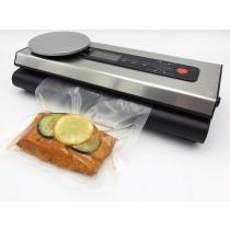 Vakuumierer für Lebensmittel VacuNo.1 - Modell VACU Premium mit integrierter digitaler Küchenwaage unser Folienschweißgerät