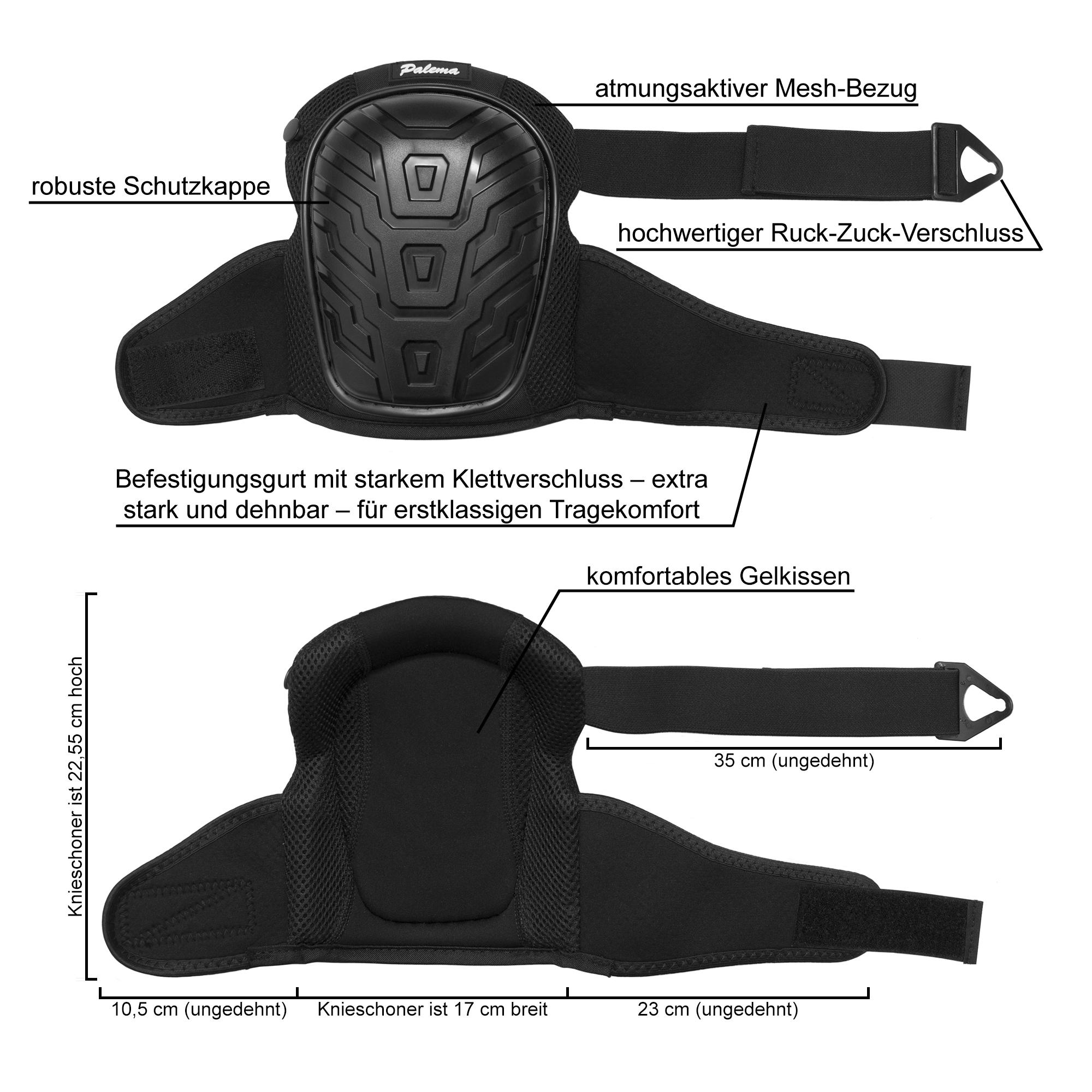 Knieschoner Detailansicht